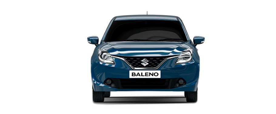 Full Front View of Baleno