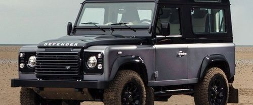Defender Front angle low view