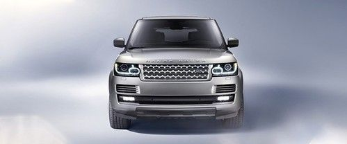 Full Front View of Range Rover
