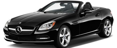 SLK Class Front angle low view