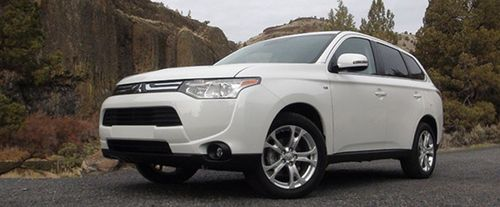 Mitsubishi Outlander Side Medium View