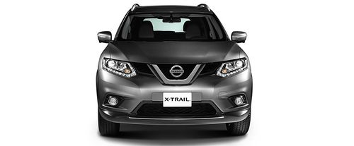 Full Front View of X-Trail
