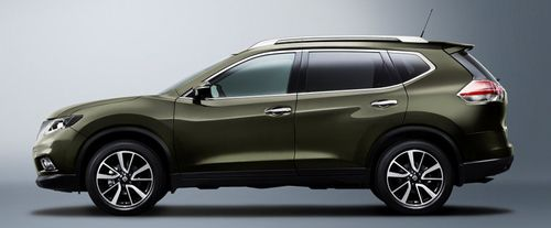 X-Trail Side view