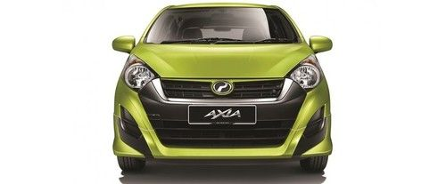 Full Front View of Axia