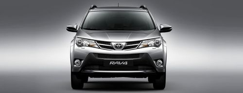 Full Front View of RAV4