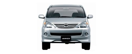 Full Front View of Avanza