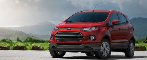 Ecosport Front angle low view