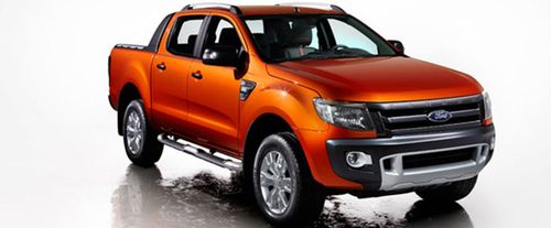 Ford Ranger Front Medium View