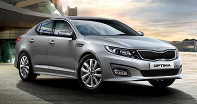 Kia Optima Front Medium View