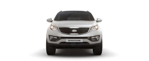 Full Front View of Sportage